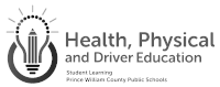 PWCS Health, Physical and Driver Education Logo